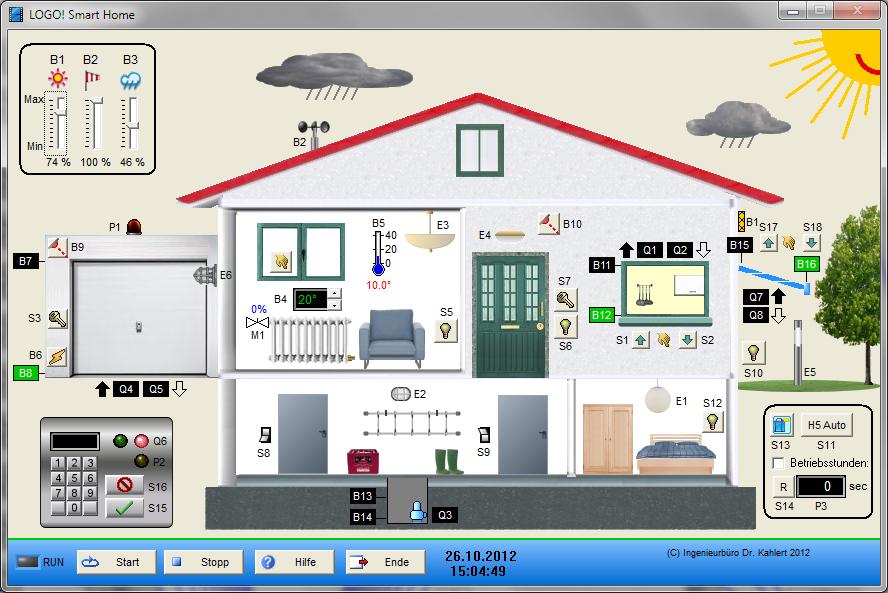 virtuelles anlagenmodell smart home. Black Bedroom Furniture Sets. Home Design Ideas