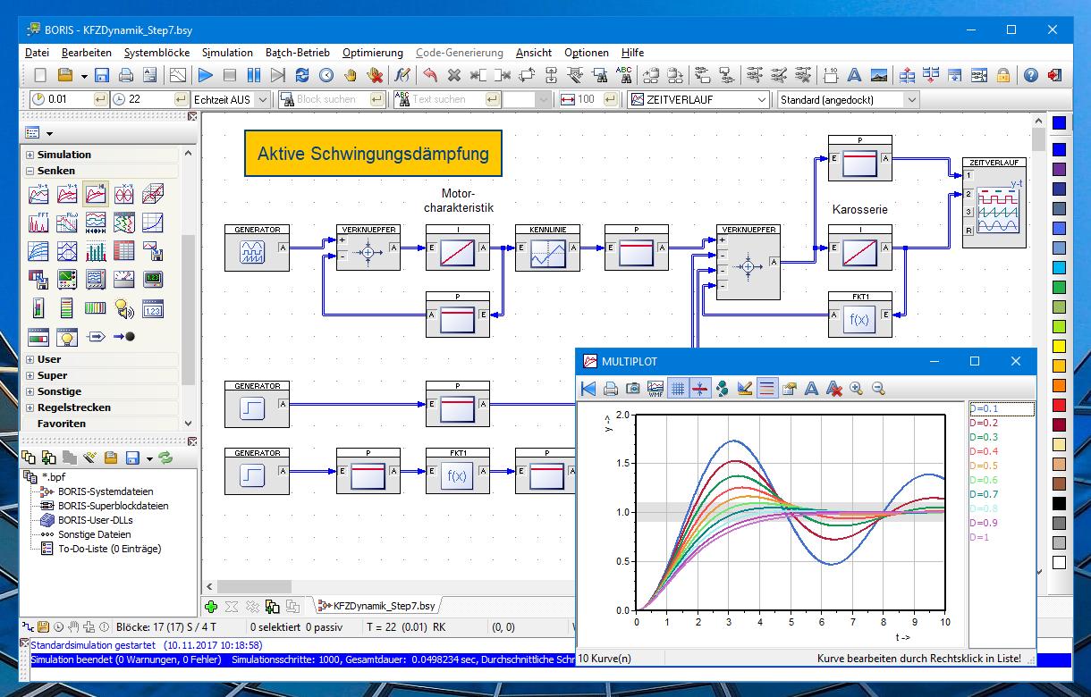 Simulationssystem BORIS – Ingenieurbüro Dr. Kahlert