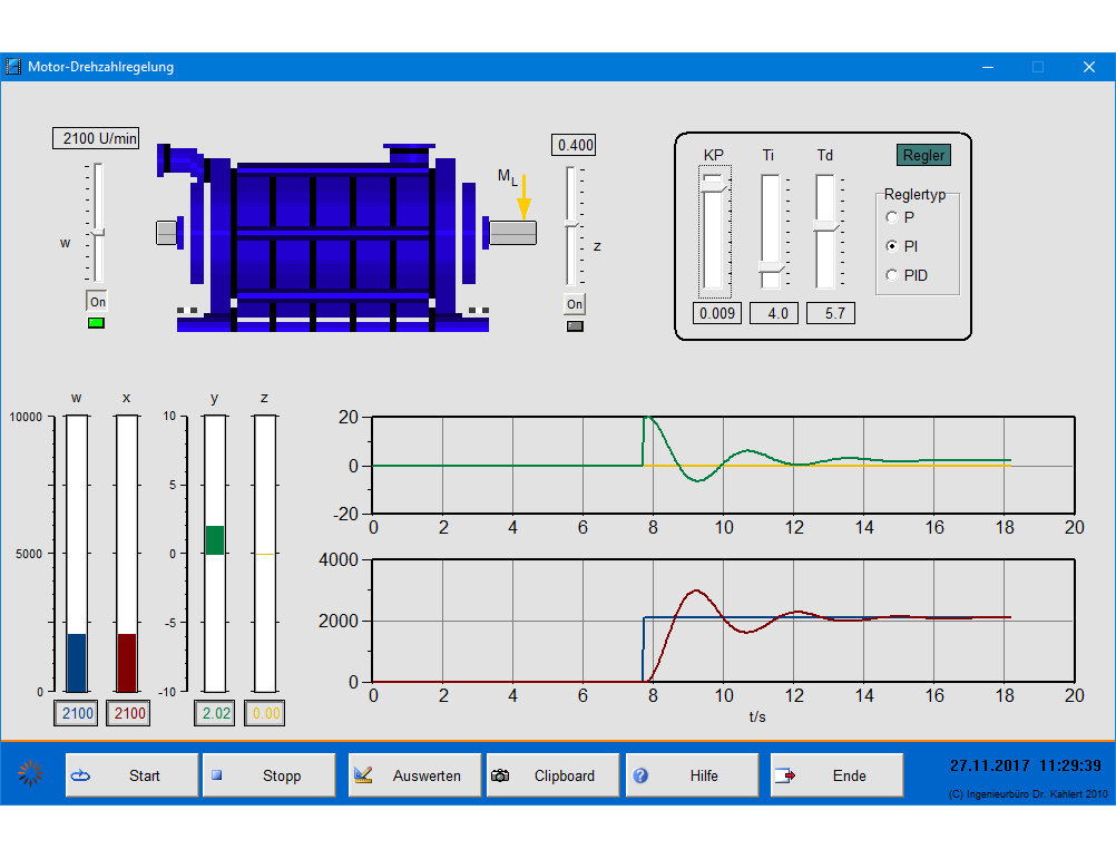 Regelungstechnische Kompaktmodelle – Ingenieurbüro Dr. Kahlert
